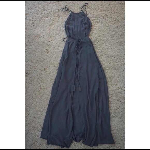 Aakaa Dresses & Skirts - Salsa Small Gray Formals Dress